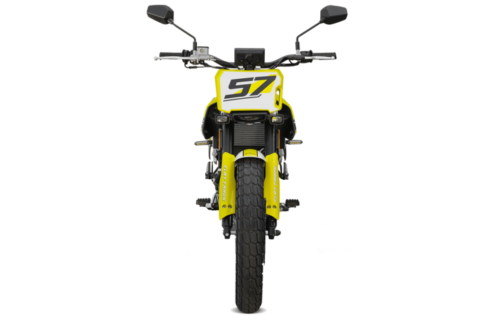 Bikes 125ccm - F.B Mondial FLAT TRACK 125i ABS in yellow | Ansicht 3