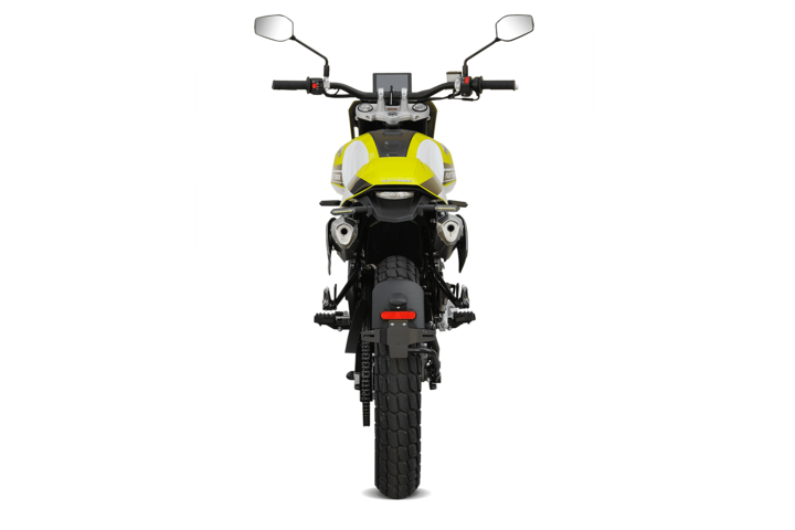 Bikes 125ccm - F.B Mondial FLAT TRACK 125i ABS in yellow | Ansicht 7